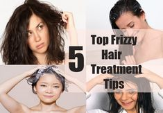 5 Top Frizzy Hair Treatment Tips