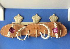 sandali positano e clip bottoni fuxia
