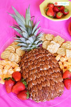 This pineapple cream cheese spread with pecans will wow your guest at your next party! Before the party is over they'll come back asking for more of your pineapple cream cheese dip, so be sure to keep plenty of crackers on hand! You can also use this recipe to make a pineapple cream cheese ball with pecans. - The Kreative Life