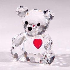 "CRYSTAL WORLD ""Birthstone Bear- January"""