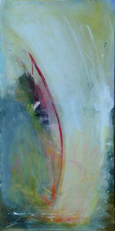 TVEKSAM - Original Abstract Acryllic painting on canvas