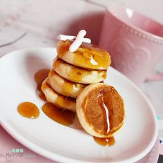 Mini Pancakes, Healthy Cooking, Food And Drink, Breakfast, Desserts, Crepes, Muffin, Diet, Morning Coffee