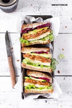 Nicest Things - Food, Interior, DIY: Pulled Jackfruit Sandwiches / Burger, ein veganes Rezept