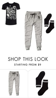 """Night Night"" by arkward-poop on Polyvore featuring Abercrombie & Fitch and Monki"