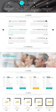 #webdesign #corporate #onepage #ui #uidesign #uidesigner #photoshop #design #designer #moderndesign #cleandesign