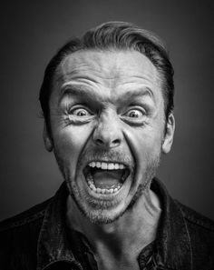 Gotts on Simon Pegg - English actor, comedian, screenwriter and film producer. Photo by Andy Gotts:Simon Pegg - English actor, comedian, screenwriter and film producer. Photo by Andy Gotts: