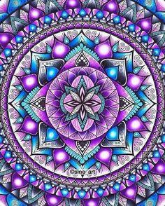 tattoo - mandala - art - design - line - henna - hand - back - sketch - doodle - girl - tat - tats - ink - inked - buddha - spirit - rose - symetric - etnic - inspired - design - sketch Mandala Design, Mandala Art, Mandalas Painting, Mandalas Drawing, Dot Painting, Art Fractal, Art Texture, Mandala Coloring, Oeuvre D'art