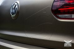 VW Golf 6R - Bond Gold Metallic Matt