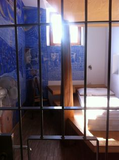 The Luxury Hostel in a Prison Cell