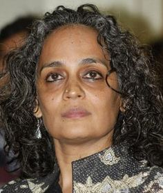 Arundhati Roy: An Indian Novelist who made the headlines around the world when she became a first Indian woman to win the 'Man Booker Prize' in 1997 for her novel-'The God of Small Things'. She has become an ardent advocate of social and economic justice for the country's oppressed minorities.