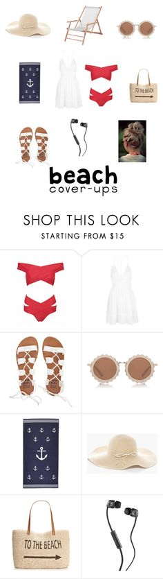 """Perfect day ☀️❤️"" by shadowcouture101 ❤ liked on Polyvore featuring Topshop, Billabong, House of Holland, Chico's, Style & Co., Skullcandy, Jan Kurtz and coverups"