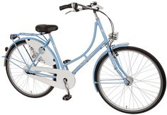 Hollandrad hell blau mit weiß in 28 Zoll- schöner Retro Stil