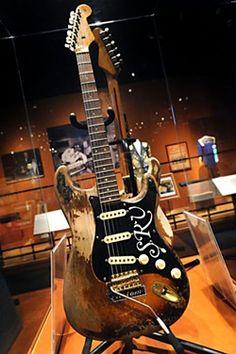 SRV At The Bob Bullock Texas State History Museum Installation Music Roadtrip Until October