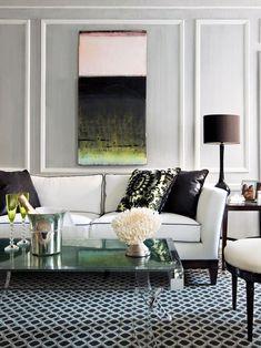 329 best originelle farbideen f r jedes zimmer images - Dunkelblaue couch welche wandfarbe ...