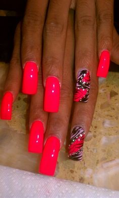 neon by AlysNails - Nail Art Gallery nailartgallery.nailsmag.com by Nails Magazine www.nailsmag.com #nailart