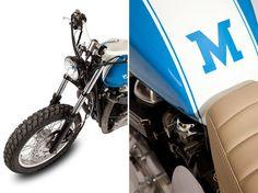 Triumph Thruxton custom by Maria Motorcycles