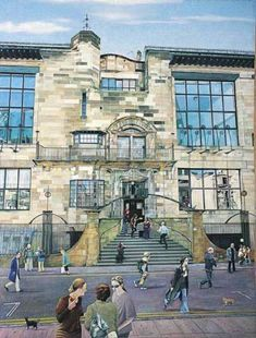Glasgow School of Art, by Avril Paton