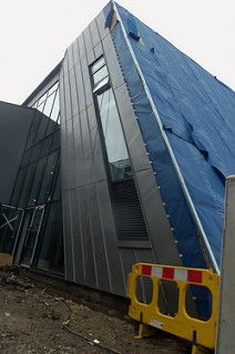 Bolton College Stem Centre Bolton College Stem Centers Zinc Cladding