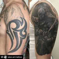 @alex.ant.tattoo ・・・ Cover up one session. 7h