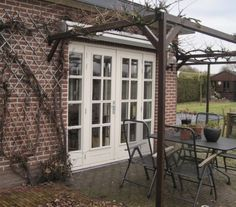 Home Kitchens, New Homes, Windows, Doors, Living Room, Garden, House, Inspiration, Design