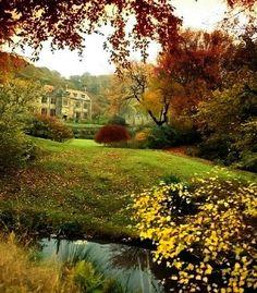 AUTUMN. - English Countryside. jm