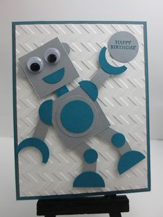 Robot Birthday Card | by plaid_ducky