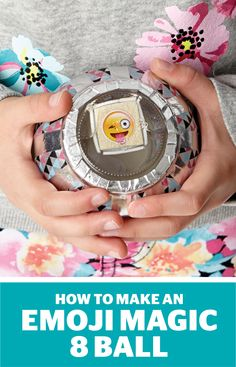 How to make an emoji magic 8-ball