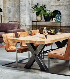 Dining table Orleans - Diy And Crafts Furniture Sets Design, Dining Furniture Sets, Rustic Wood Furniture, Industrial Style Dining Table, Metal Dining Table, Modern Dining Chairs, Kitchen Chairs, Dinning Room Tables, Dining Room Design