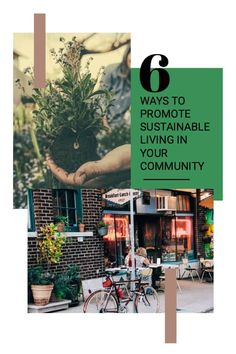 6 Ways to promote sustainable living in your community. How to embrace sustainability. Green Living Tips, Eco Green, Womens Wellness, Change Maker, Natural Cleaners, Environmental Issues, Life Purpose, Sustainable Living, Natural Living