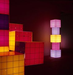 Light sculptures - Verner Panton