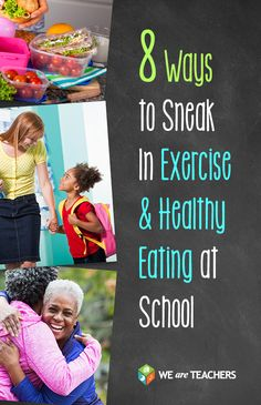 Exercise can make you a better teacher. Here are 8 of our favorite tricks for staying healthy at school.