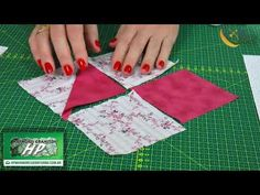 Ponto Certo com Silvia Moresco 23/03/2018 Bloco Peixe de Patchwork - YouTube Patch Quilt, Quilt Blocks, Picnic Blanket, Outdoor Blanket, Table Covers, Square Quilt, Sewing Techniques, Quilt Patterns, Diy And Crafts
