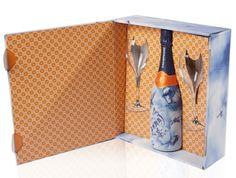 Zarb 'Delfts Blauw' Champagne Geschenkset Bestellen - Champagnes.nl #champagne #zarb #geschenk #gift