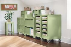 Delicieux Martha Stewart Living™ Craft Space Cart With Pull Out Trays   Martha Stewart  Living