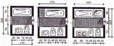 Эргономика больших ванных комнат