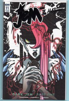 Jem and The Holograms Comic #11 Variant Dark Jem IDW NM 1st Print!