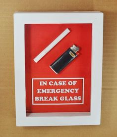 Image result for in case break glass