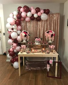 Ideas For Vintage Party Decorations Birthday Simple - New Deko Sites Balloon Garland, Balloon Decorations, Baby Shower Decorations, Balloons, Vintage Party Decorations, Birthday Party Decorations, Wedding Decorations, Quinceanera Decorations, Birthday Backdrop