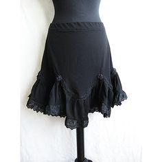 Skirt Sevilla Victorian Gothic Steampunk Lolita by SomniaRomantica, $59.00