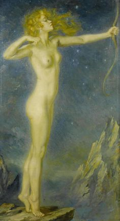 View Artemis by George Owen Wynne Apperley on artnet. Browse upcoming and past auction lots by George Owen Wynne Apperley. Greek And Roman Mythology, Sacred Feminine, Divine Feminine, Diane, Gods And Goddesses, Archetypes, Painting & Drawing, Fantasy Art, Illustration Art