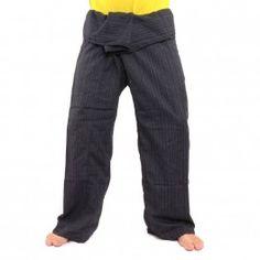 Enveloppez Pantalon Cottonmix extra long - noir