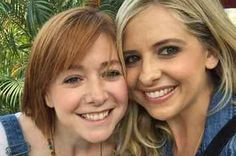 Buffy And Willow Had A Mini Reunion And Proved Friendship Never Dies