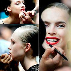 Models backstage at Alexandre Vauthier Haute Couture 2012