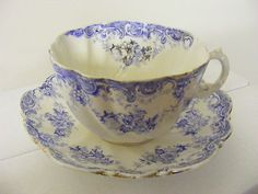 Victorian Tea Cups and Saucers | Victorian Breakfast Cup/Saucer