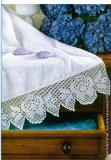 Barrados de Croche: Barrado Hortensia