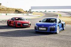 Nieuwe foto's van de Audi R8 V10 Plus