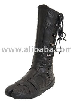 Ninja Tabi Boots - I have a pair of these and have worn them half to death. So sad the company went out of business...