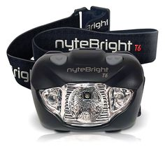 nyteBright T6 Headlamp - Flashlight w/ White *** Want additional info? Click on the image. (This is an Amazon Affiliate link)