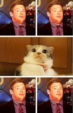 Cory Monteith, hilarious