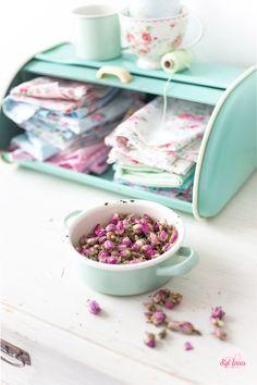 Syl loves, mint, roses, GreenGate, retro